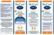 Men Vi Sinh Biocare Banana BioAcidophilus 60g Cho Bé Từ 6 Tháng