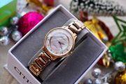 Đồng Hồ Citizen Nữ EM0382-86D Rose Gold Tuyệt Đẹp