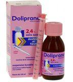 Siro Doliprane 100ml cho bé chính hãng của Pháp