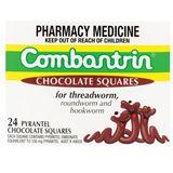 Kẹo Socola tẩy giun Combantrin hàng Úc