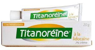 Kem bôi hỗ trợ trĩ ngoại Titanoreine của Pháp