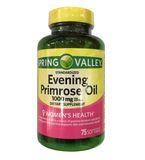 Tinh dầu hoa anh thảo Spring Valley Evening 1000mg
