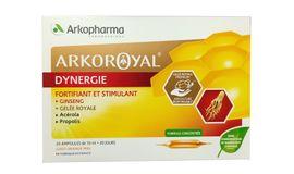 Sữa ong chúa nhân sâm Arko Royal Gelee Royale của Pháp