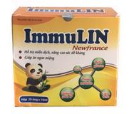 ImmuLin Newfrance - Hỗ Trợ Tăng Đề Kháng Cho Trẻ Từ 2 Tuổi