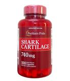 Sụn vi cá mập Shark Cartilage Puritan's Pride 740mg