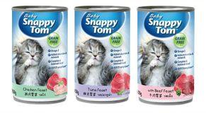 Pate hỗn hợp Snappy Tom cho mèo con 150g