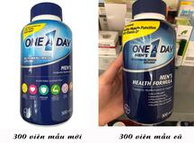 One A Day Men's Multivitamin Health Formula test