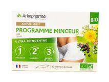 Arkopharma Programme Minceur hỗ trợ giảm cân 3 tác động