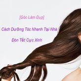 [Góc làm đẹp] Bật mí cách dưỡng tóc nhanh tại nhà Đón Tết cực xinh
