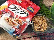 Review các loại ngũ cốc Calbee: màu nào ngon, có đường không, có béo không?