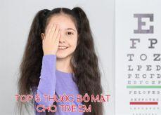 TOP 5 thuốc bổ mắt cho trẻ em, thành phần, công dụng, giá bán