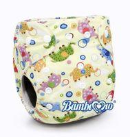 Tã vải Bambi Mio Elmo NCP035 ban đêm (6-8h) cho bé 3-16kg