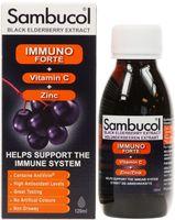 Sambucol immuno forte tăng đề kháng cho trẻ trên 3 tuổi 120ml