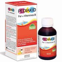 Siro Pediakid  Bổ Sung Fer + Vitamines B Cho Trẻ Từ 6 Tháng