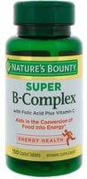 Viên B-Complex Nature's Bounty With Folic Acid + Vit C