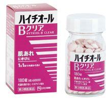 Viên Uống Hỗ Trợ Cải Thiện Mụn Trứng Cá Hythiol-B Của Nhật 180 Viên