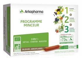 Arkopharma Programme Minceur Hỗ Trợ Cải Thiện Cân Nặng