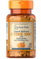 Vitamin C 1000 mg with Rose Hips Timed Release của Puritans Pride