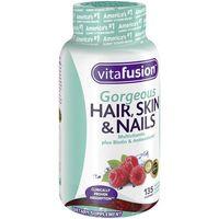 Kẹo dẻo Hair Skin & Nails Vitafusion Gorgeous của Mỹ