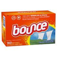Giấy thơm quần áo Bounce của Mỹ (160 tờ)