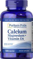 Viên Bổ Sung Calcium Magnesium Vitamin D3 Của Puritan's Pride