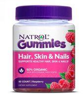 [Date T1/2022] Kẹo Dẻo Natrol Gummies Hair Skin Nails Đẹp Da Móng Tóc