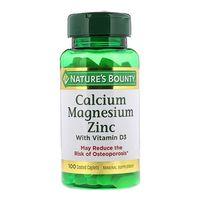Viên Uống Nature's Bounty Calcium Magnesium Zinc With D3