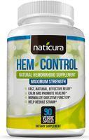 Viên uống hỗ trợ trị trĩ Naticura Hem Control của Mỹ