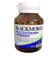 Viên Uống Blackmores Multivitamin + Energy