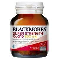 Viên Uống Hỗ Trợ Tim Mạch Blackmores CoQ10 Super Strength 300mg