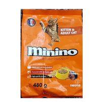 Thức ăn hạt cho mèo mọi lứa tuổi Minino vị cá ngừ