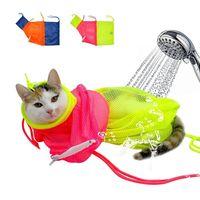 Túi Hỗ Trợ Tắm Cho Mèo Dạng Lưới