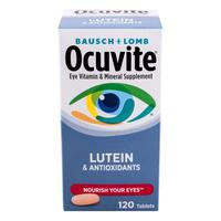 Viên Uống Ocuvite Bausch+Lomb With Lutein & Antioxidants