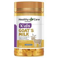 Sữa Dê Cô Đặc Dạng Viên Goat Milk Healthy Care Úc