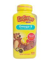 Kẹo Gấu L'il Critters Omega-3 DHA Bổ Sung DHA Cho Bé