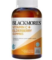 Kẹo Dẻo Bổ Sung Vitamin C Blackmores Vitamin C+ Elderberry Gummies