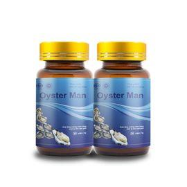 Combo 2 hộp tinh chất hàu Oyster Man hỗ trợ sinh lý nam