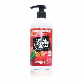Sữa Tắm Vitamin E Hương Táo Nagano 250ml - Apple Shower Cream With Vitamin E 250ml