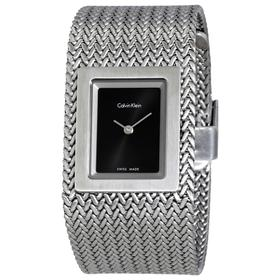 Đồng hồ Calvin Klein CK K5L13131 Dây Mesh Mặt Đen