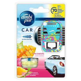 Bộ tinh dầu thơm ô tô Ambi Pur 7ml QT07395 hương trái cây