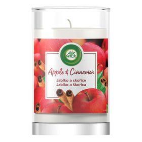 Ly nến thơm tinh dầu Air Wick 310g QT06525 hương táo, quế
