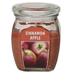 Hũ nến thơm tinh dầu Bolsius 305g QT024374 hương táo, quế