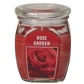 Hũ nến thơm tinh dầu Bolsius 305g QT024372 vườn hoa hồng