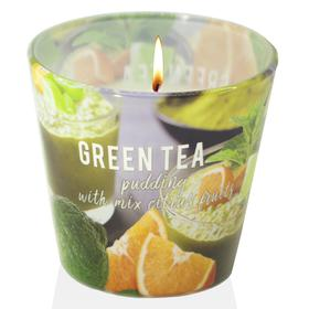 Ly nến thơm tinh dầu Bartek 115g QT04964 matcha trà xanh