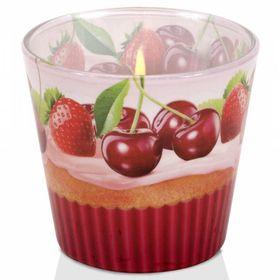 Ly nến thơm Bartek 115g QT00665 bánh muffin trái cây