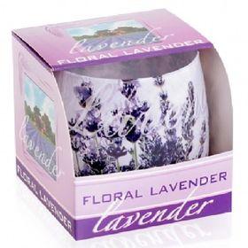 Ly nến thơm tinh dầu Bartek 100g QT025831 hoa oải hương