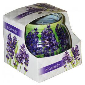 Ly nến thơm tinh dầu Admit 85g QT04544 hoa oải hương