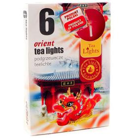 Hộp 6 nến thơm tinh dầu Tealight QT026068 gỗ trầm hương