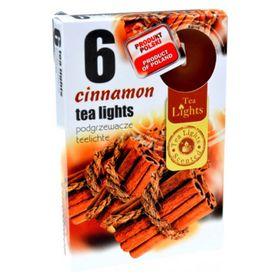 Hộp 6 nến thơm tinh dầu Tealight QT026109 hương quế
