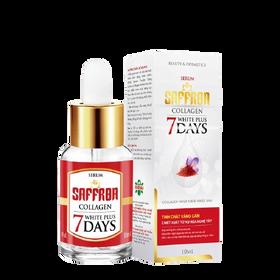 Serum dưỡng ấm, hỗ trợ trắng da Saffron Collagen White Plus 7days